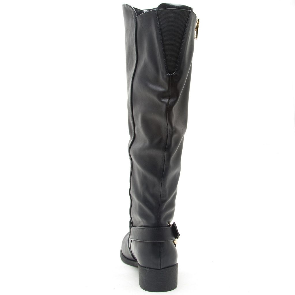 Qupid Plateau Women's Knee High Boots