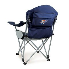 Picnic Time Oklahoma City Thunder Reclining Camp Chair