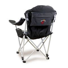 Picnic Time Miami Heat Reclining Camp Chair