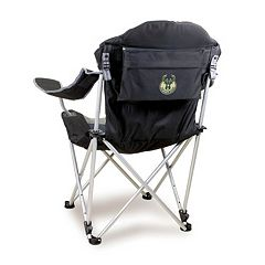 Picnic Time Milwaukee Bucks Reclining Camp Chair