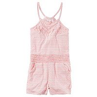 Girls 4-8 Carter's Fringe Pull-On Romper