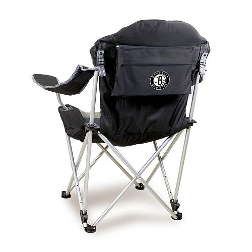 Picnic Time Brooklyn Nets Reclining Camp Chair