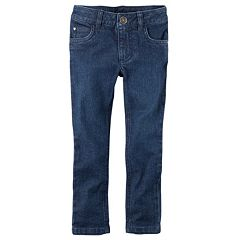 Girls 4-6x Carter's Skinny Stretch Denim Twill Pants