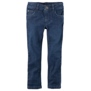 Girls 4-6x Carter's Skinny Stretch Denim Twill Pants