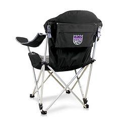 Picnic Time Sacramento Kings Reclining Camp Chair