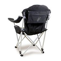 Picnic Time San Antonio Spurs Reclining Camp Chair