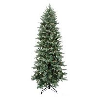 Pre-Lit 9.5-ft. Artificial Washington Frasier Fir Slim Christmas Tree