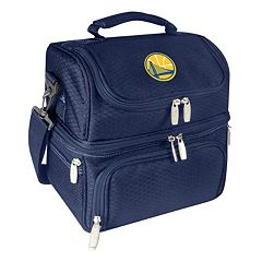 Picnic Time Golden State Warriors Pranzo 7 pc Insulated Cooler Lunch Tote Set