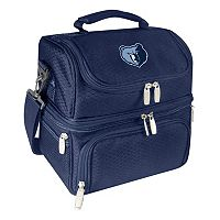 Picnic Time Memphis Grizzlies Pranzo 7 pc Insulated Cooler Lunch Tote Set