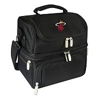 Picnic Time Miami Heat Pranzo 7-Piece Insulated Cooler Lunch Tote Set