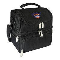 Picnic Time Phoenix Suns Pranzo 7 pc Insulated Cooler Lunch Tote Set