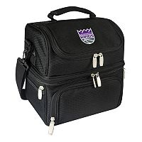 Picnic Time Sacramento Kings Pranzo 7 pc Insulated Cooler Lunch Tote Set