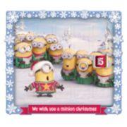 Despicable Me Minions Advent Calendar Christmas Table Decor By Kurt Adler