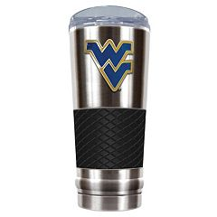 West Virginia Mountaineers 24-Ounce Draft Stainless Steel Tumbler