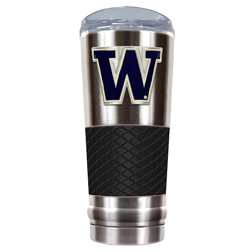 Washington Huskies 24-Ounce Draft Stainless Steel Tumbler