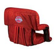 Picnic Time Detroit Pistons Ventura Portable Reclining Seat