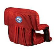 Picnic Time Philadelphia 76ers Ventura Portable Reclining Seat