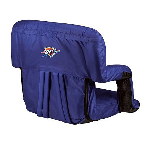 Picnic Time Oklahoma City Thunder Ventura Portable Reclining Seat