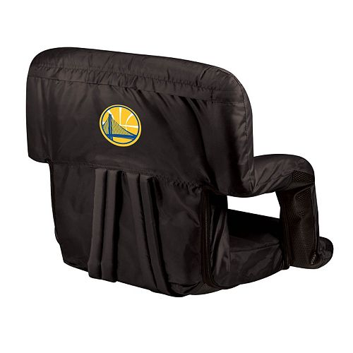 Picnic Time Golden State Warriors Ventura Portable Reclining Seat