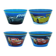 Disney / Pixar Cars 3 4 pc Bowl Set by Jumping Beans®