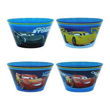 Disney / Pixar Cars 3 4-pc. Bowl Set by Jumping Beans®