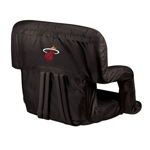 Picnic Time Miami Heat Ventura Portable Reclining Seat