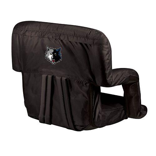 Picnic Time Minnesota Timberwolves Ventura Portable Reclining Seat