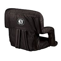 Picnic Time Brooklyn Nets Ventura Portable Reclining Seat