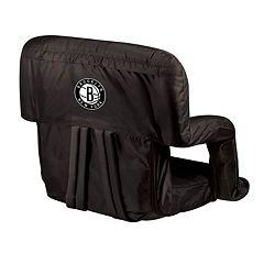 Picnic Time Brooklyn Nets Ventura Portable Reclining Seat