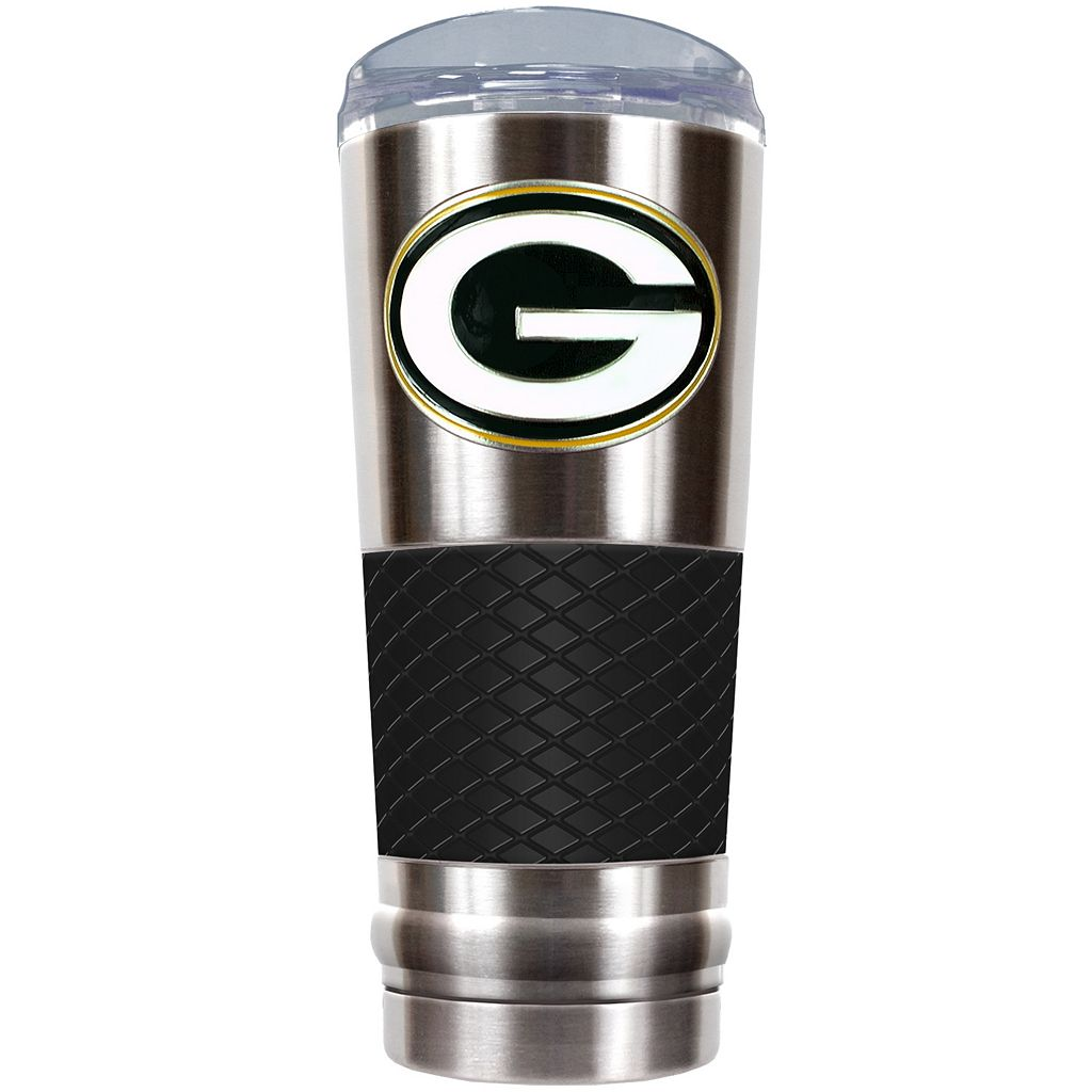 Green Bay Packers 24-Ounce Draft Stainless Steel Tumbler