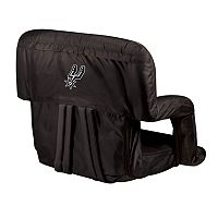 Picnic Time San Antonio Spurs Ventura Portable Reclining Seat