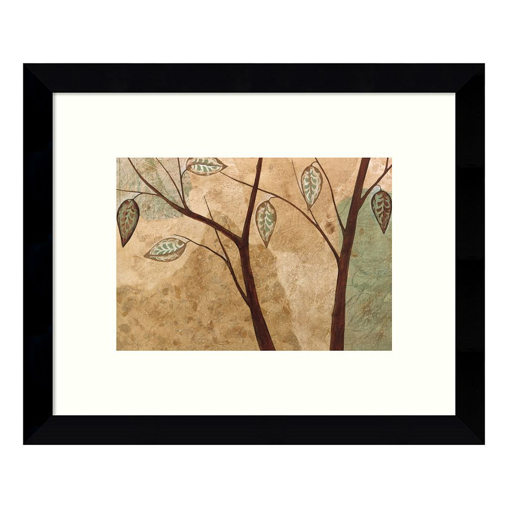 Foliage I Branches Framed Wall Art