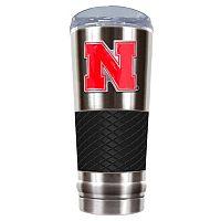 Nebraska Cornhuskers 24-Ounce Draft Stainless Steel Tumbler
