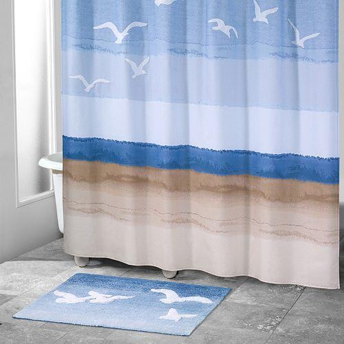 Avanti Seagulls Shower Curtain
