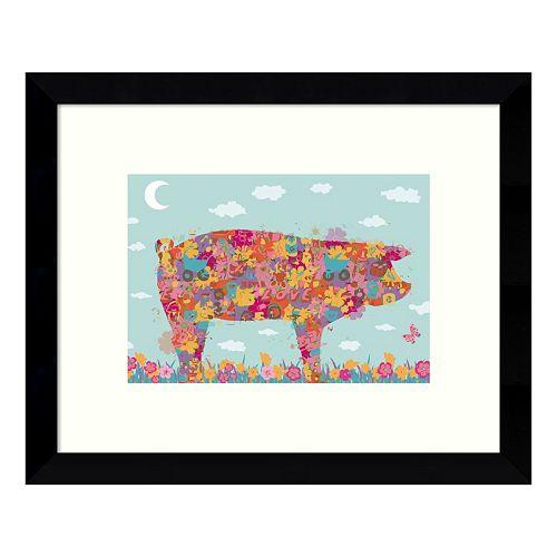 Hog Framed Wall Art