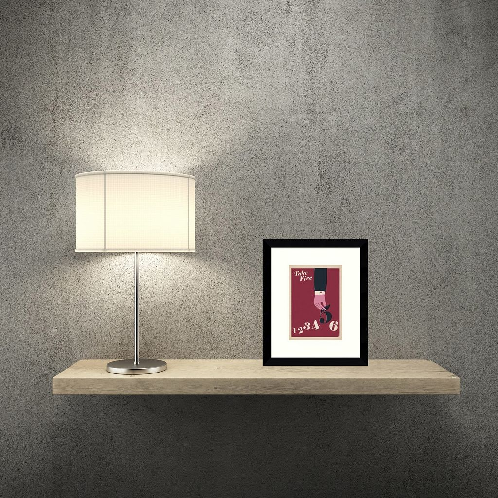 Take Five Framed Wall Art