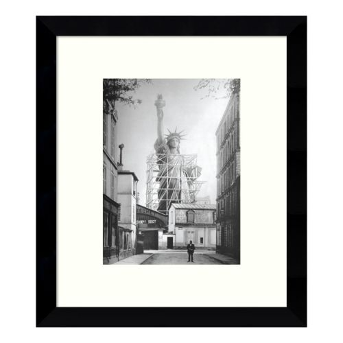 Statue of Liberty in Paris 1886 Framed Wall Art