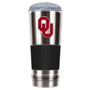 Oklahoma Sooners 24-Ounce Draft Stainless Steel Tumbler
