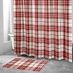 Avanti Hunter Plaid Shower Curtain