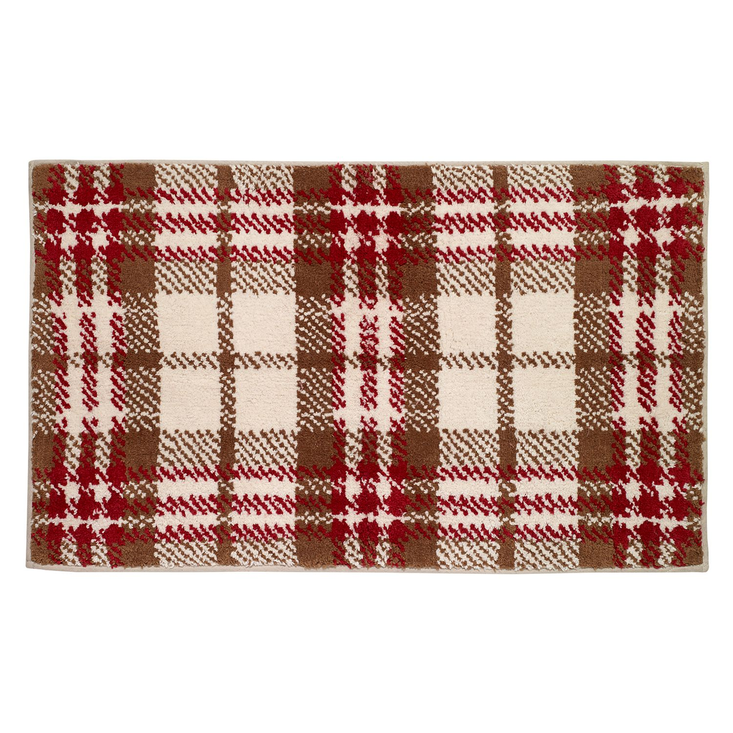 Avanti Hunter Plaid Rug. Avanti Hunter Plaid Shower Curtain Collection