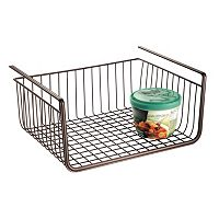 InterDesign York Lyra Under-Shelf Basket