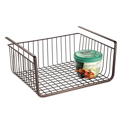 InterDesign York Lyra Under-Shelf Basket