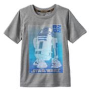 Boys 4-7x Star Wars a Collection for Kohl's Linear R2D2 Graphic Tee