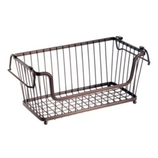 InterDesign York Lyra 12-in. Open Basket