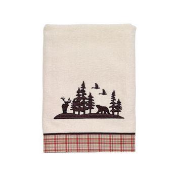 Avanti Hunter Plaid Hand Towel