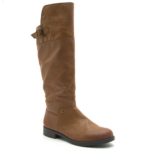 Qupid Turner Women's Knee High Boots