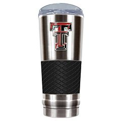 Texas Tech Red Raiders 24-Ounce Draft Stainless Steel Tumbler