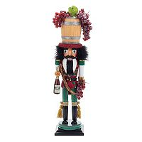 Kurt Adler 18.9-in. Wine Barrel Christmas Nutcracker