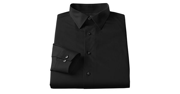 Men 39 S Apt 9 Slim Tall Stretch Spread Collar Dress Shirt