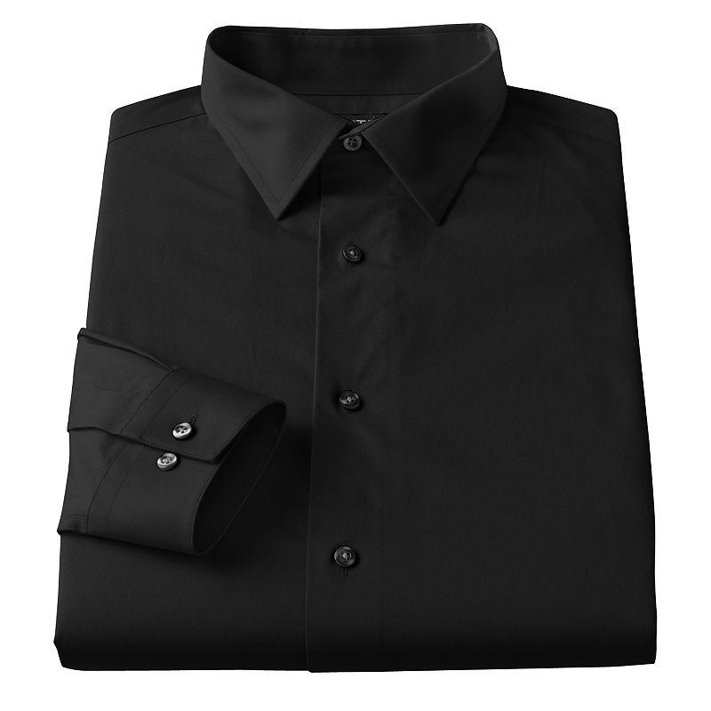 c84632f825e98 Big   Tall Men s Apt. 9® Slim Tall Stretch Spread-Collar Dress Shirt ...
